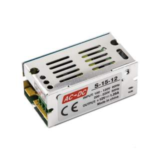Power supply 12W-12V-1A IP20