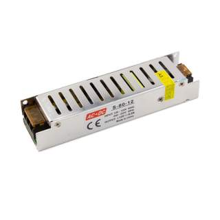 Power supply 80W-12V-6,5A IP20