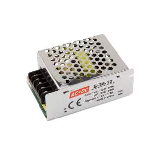 Power supply 36W-12V-3A IP20