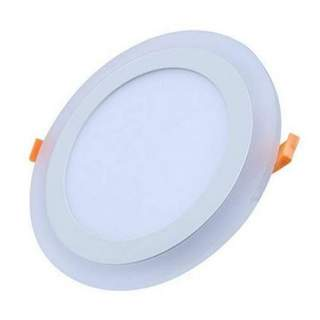 Round-plus downlight 6W DW + 3W WW